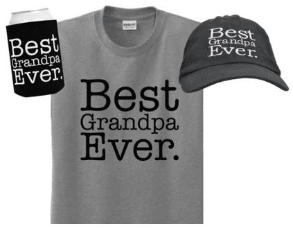Best Grandpa Ever 3-Piece Gift Set Bundle