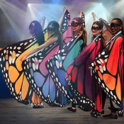 Amazon: These Are So Pretty! Butterfly Wings Shawl Halloween Costumes from...