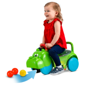 Walmart: Hasbro Hungry Hungry Hippos 3 in 1 Scoot and Ride On Toy $19.97...