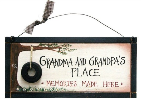 Ohio Wholesale Grandparents Memory Sign Wall Art, from our Grandma-pa Collection