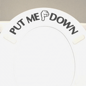 Amazon: Put Me Down Vinyl Bathroom Toilet Seat Sticker $2.45 (Reg. $5.49)...