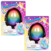 Amazon: Set of 2 Surprise Growing Unicorn Hatching Rainbow Eggs $7.99 (Reg....