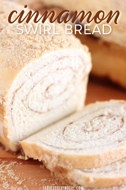 Soft cinnamon swirl bread recipe