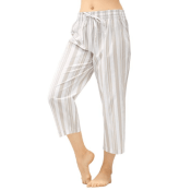 Amazon: Women's 100% Cotton Woven Capri Pajama $5.09 (Reg. $11.99)