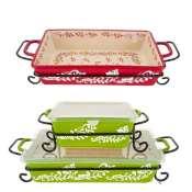 Walmar: Valerie Bertinelli 4-Piece Bake And Serve Set with Lid $13.99 (Reg....