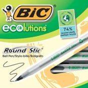 Amazon: 50 BIC Ecolutions Ballpoint Black Ink Pens $4.52 (Reg. $7.99) -...