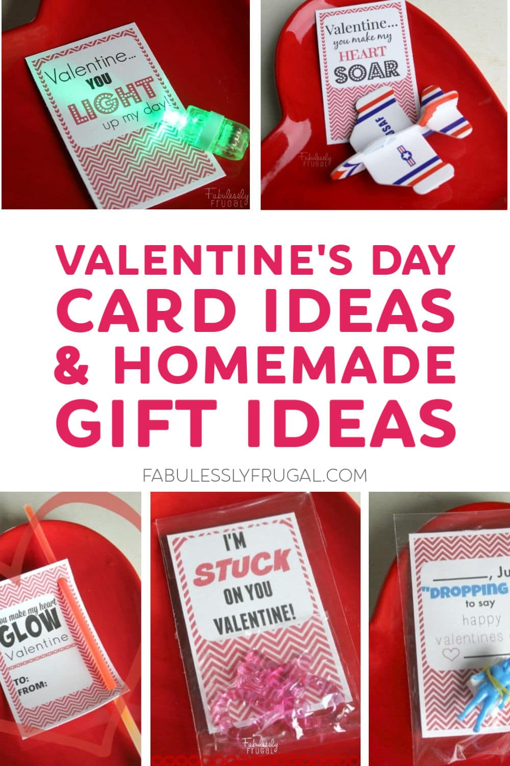 Valentine's day card ideas and homemade gifts