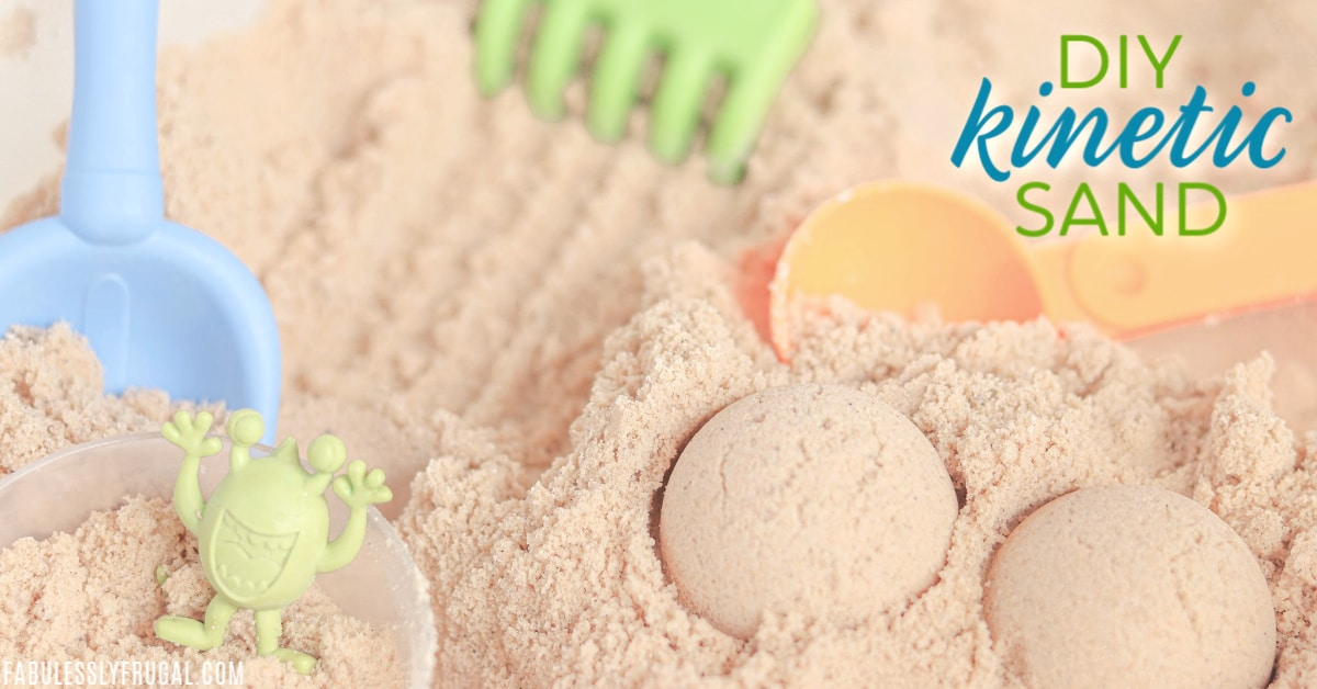 How To Make Your Own Kinetic Sand And Save Big Fabulessly