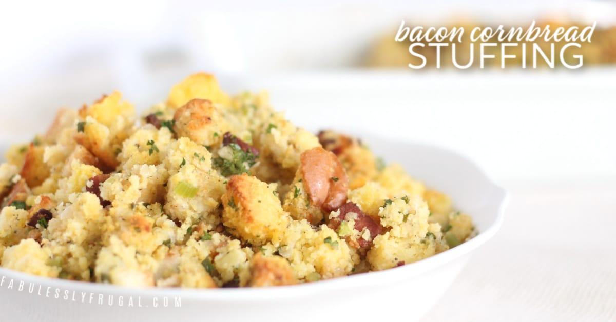 best bacon cornbread stuffing recipe