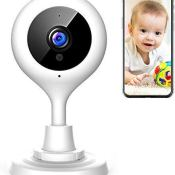 Amazon: Baby Monitor WiFi Camera $19.79 After Code (Reg. $45.99) + Free...