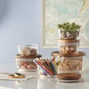 Macy's: 6-Piece Pyrex Storage Set with Wood Lids as low as $24.99 (Reg....