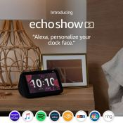 Amazon Black Friday! Echo Show 5 $49.99 (Reg. $89.99) + Free Shipping