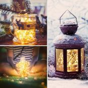 Snag TWO Sets of Fairy Lights for Just $5.99 (Reg. $12.99) - Use Indoors...