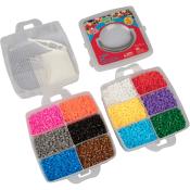 Amazon: 8,000pc Fuse Bead Super Kit $6.99 After Code (Reg. $17.99)