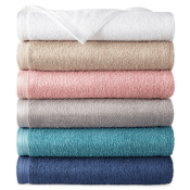 JCPenney Black Friday! Home Expressions Solid or Stripe Bath Towel $2.99...