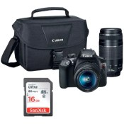 Target Black Friday Doorbuster! Canon Rebel T6 DSLR Bundle, 18-55mm Lens,...
