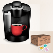 Today Only! Amazon: Keurig K-Classic Coffee Maker with 60 Count Coffee...