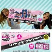 Amazon Black Friday! L.O.L. Surprise! Amazing Surprise with 14 Dolls, 70+...