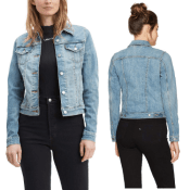Today Only! Amazon Black Friday! Levi's Women's Trucker Jackets Original...