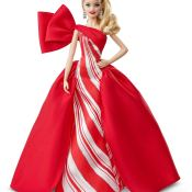 Amazon Black Friday! Mattel 2019 Holiday Barbie Doll $29.99 (Reg. $39.99)...