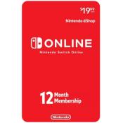 Target: Nintendo Switch Online 12-Month Membership $14.99 (Reg. $19.99)