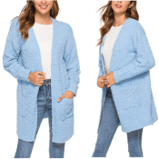 Amazon: 2 Colors! Sweater Coat with Pockets $14.44 After Code (Reg. $28.98)...