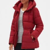 Gap Factory: Women's Hooded Puffer Jacket $35 After Code (Reg. $90) +...