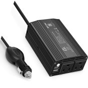 Amazon: 12V to 110V Power Inverter with 4.2A Dual USB Car Adapter $16.99...