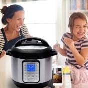 Amazon Cyber Monday! 6 Quart Instant Pot Multi-use Electric Pressure Cooker...