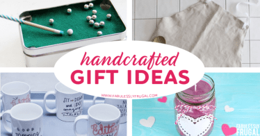 Handcrafted gift ideas