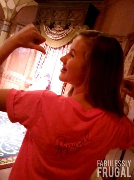 Rapunzel disney world tshirt
