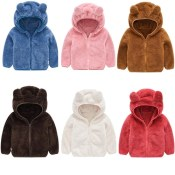 Amazon: Fleece Warm Zip-up Hoodies Clothes For Toddler $8.99 After Code...