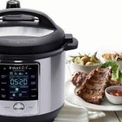 Amazon Cyber Monday! 6 Quart Instant Pot Max 60 Electric Pressure Cooker...