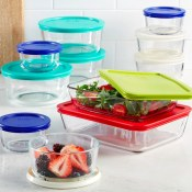 Macy's Black Friday! Pyrex 22 Piece Food Storage Container Set $17.99 (Reg....