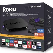Walmart Black Friday! Roku Ultra Streaming Media Player with Premium JBL...