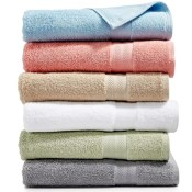 Macy's Black Friday! Soft Spun Cotton Bath Towel Collection $2.99 each...