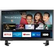 Amazon Cyber Monday! Insignia 24 Inch 720p HD Smart LED TV Fire TV Edition...