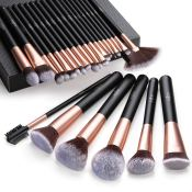 Amazon Cyber Week! Makeup Brush Set, 24pcs $12.59 (Reg. $17.99)