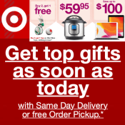 Target has Last Minute Shopping Deals + Free In-store Pick Up!