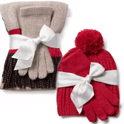 2-Piece Scarf, Hat, and Glove Sets - BIG Selection $4.99 Shipped Free!...