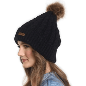Amazon Cyber Week! Brook + Bay Faux Fur Pom Pom Beanie for Women $5.97...