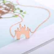 Today Only! Jane: Children's Castle Necklace $3.99 (Reg. $29.99) + Free...