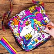 Amazon Holiday Deal! Color Your Own Unicorn Messenger Bag $9.09 (Reg. $12.99)...