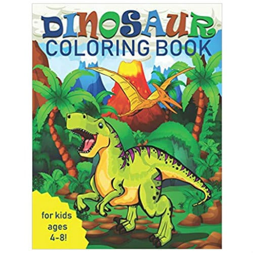 Amazon Holiday Deal! Dinosaur Coloring Book for Kids $3.99 ...
