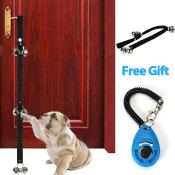 Amazon: Dog Door Bells for Potty Training with Clicker and 1 Wrist Strap...