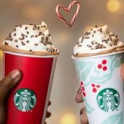 Every Thursday!! Starbucks: Buy 1 Get 1 FREE Grande or Larger Beverages