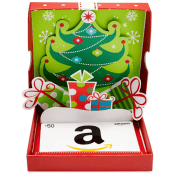 Amazon Holiday Deal! Gift Card in a Holiday Pop-Up Box $50 [Other $ Available]...