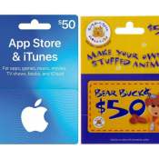 Today Only! Amazon Cyber Week! 20% Off Gift Cards: Build-A-Bear, Apple,...