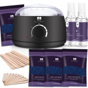 Amazon: Hair Removal Wax Warmer Kit $13.64 After Code (Reg. $20.99)