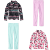The Children's Place Cyber Week! Kid's Fleece Pullovers and Pants $4.99...